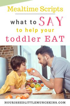 Avoid the mealtime meltdown with your picky eater by using these scripts for common mealtime scenarios.  If your child has trouble coming to the table, you're chasing them around with a spoon, is crying when they are asked to take a bite, throws food on the floor, barely eater a few bites before being full, or is starting to even refuse to eat old favourites, you'll have a framework to address these common mealtime scenarios with understanding and compassions and without using icky methods. Natural Parenting, New Recipes, Salad Recipes, Say What, Health Articles, Picky Eaters, Child Development, Talking To You, Early Childhood