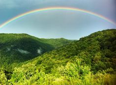 Photo taken at Powell Mountain Overlook, Nicholas County, WV by Will Deskins, WVU Graphic Design Student
