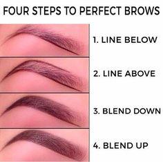 make up;make up for beginners;make up tutorial;make up for brown eyes;make up for hazel eyes;make up organization;make up ideas; Eyebrow Makeup Tips, Makeup Hacks, Skin Makeup, Makeup Brushes, Makeup Ideas, Makeup Eyebrows, Makeup Routine, Makeup Geek, Makeup Tutorials
