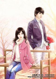 Visit the post for more. Cartoon Love Photo, Cute Couple Cartoon, Cute Couple Art, Cute Cartoon Girl, Anime Love Couple, Cute Anime Couples, Couples In Love, Sweet Couple, Cartoon Art