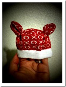 Joy Love Peace Believe Christmas 3 Infant Skull Hat Kids Beanie Cap
