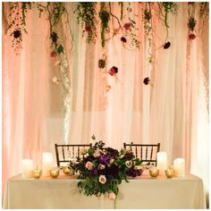 Sweetheart table ideas | Hamilton Oaks Events