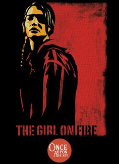 Once Upon a Tee | The Girl on Fire
