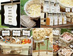 {4th of July} Popcorn Bar