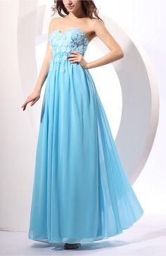 Turquoise Elegant Empire Sweetheart Sleeveless Zipper Plus Size Homecoming Dress