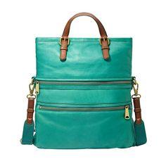 Fossil Explorer Tote Bag: Dark Turquoise | $379.00