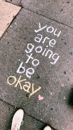 Sidewalk Art Quotes Street Art, The sight of kids drawing on the pavement with sidewalk chalk is practically guaranteed to induce a, Smile Quotes, Mood Quotes, Cute Quotes, Happy Quotes, Quotes Positive, Happiness Quotes, Energy Quotes, Positive Motivation, Positive Attitude