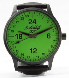 "Nordschleife® 1927 ""GREEN HELL EDITION"" 24 hour watch"