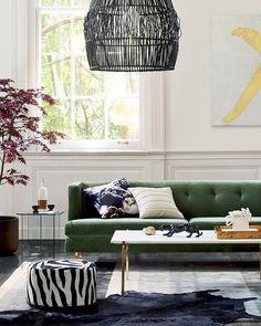 Caning Hoop Wall Art. Wicker Year Round Design Trends | Martha Stewart ...