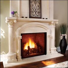 "Direct Vent. Available in Natural Gas and Propane. Available in 32"" and 36"" openings. Firebrick options in Cottage Clay, Cottage Red and Vintage Brown."