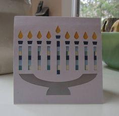 Hanukkah card idea