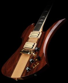 "B.C. Rich USA Handcrafted Mockingbird Supreme Natural - it's a ""mid-life crisis guilty pleasure"" thing!"
