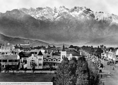 Worcester as taken from Drosdy looking up towards the mountains circa 1948 via Etienne Duplessis Worcester South Africa, Inner World, Folk Music, My Land, African History, Africa Travel, Astronomy, Mount Rushmore, Backyard