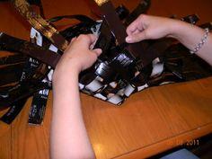 Vinopunottu kahvipussikori – Käsitöitä ja Puutarhanhoitoa Coffee, Crafts, Healthy, Kaffee, Manualidades, Cup Of Coffee, Handmade Crafts, Craft, Arts And Crafts