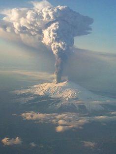 Etna Volcano - Sicily, Italy / Eruption in 2002  #etna  #etna