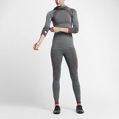 Damska bluza treningowa z kapturem Nike Pro Hyperwarm Limitless
