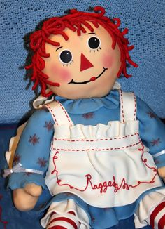 Such a sweet face~ Ann Doll, Raggedy Ann And Andy, Yesterday And Today, Amazing Grace, Little Red, Vintage Dolls, Doll Clothes, Halloween Costumes, Disney Princess