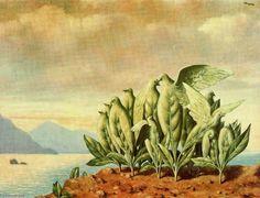 """Treasure Island"" Rene Magritte"