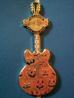Philadelphia PA 2003 - Halloween - Hard Rock Cafe pin