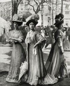 Gibson Girls 1906-1909