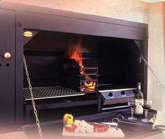 The Braai - outdoor built in bbq from South Africa - direct to Melbourne. Buy one today. Built In Braai, Built In Grill, Backyard, Patio, Outdoor Kitchen Design, Small Farm, Metal Working, Outdoor Gardens, Melbourne