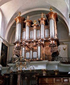 TOULOUSE (FRANKREICH) Saint Pierre des Chartreux (1983) Robert Delauney 1683, Joseph Cavaillé, J. B. Micot 1783