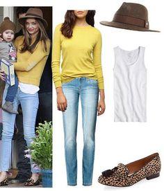 Cool Mom Outfit Miranda Kerr #momoutfit #MirandaKerr