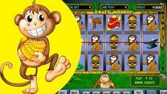 Как выиграть 7000 в ОБЕЗЯНКИ  игровой атомат! Казино онлайн, Crazy Monke...
