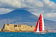 Luna Rossa, America's Cup World Series Naples, Italy