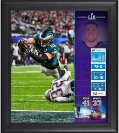 82b4ba07c3d Zach Ertz Philadelphia Eagles Framed 15
