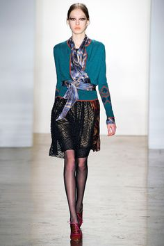 Sophie Theallet, Fall 2012 (Nice dressy outfit)
