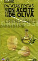 """Patatas fritas lisas """"Hacendado"""" en aceite de oliva - Producto"""