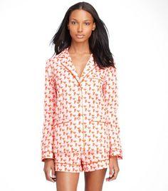 Mireille Pajama Set | Womens Sale | ToryBurch.com