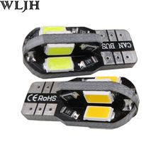 US $3.95 WLJH 2pcs Canbus W5W Led T10 5730 SMD Car Styling Led Interior External Lights Automobiles Lighting Auto LED Lamp 12v Universal. Aliexpress product
