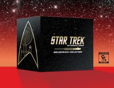 Star Trek: The Original Series Soundtrack Collection, a limited-edition 15-CD box set featuring every episode score heard throughout the show's three-year run.