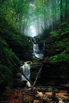 Fairy Falls by Kilian Schönberger