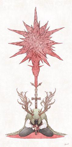 Lordran & Beyond Dark Souls Art, Dark Art, Bloodborne Art, Old Blood, Blog Backgrounds, Soul Art, Dragon Art, Video Game Art, Fantastic Art