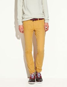 The biggest trend this Spring is gonna be ankle length pants for men.