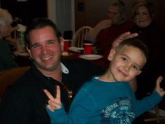 Andy and Blane