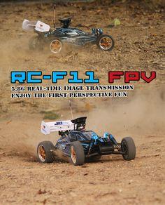 Walkera RC-F11 1:10 RC Buggy Racing Car with FPV DEVO F4 5.8Ghz Transmitter RTR 2.4Ghz