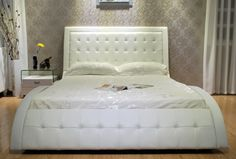 Image Result For Greatime Wave Like Shape Upholstered Bed
