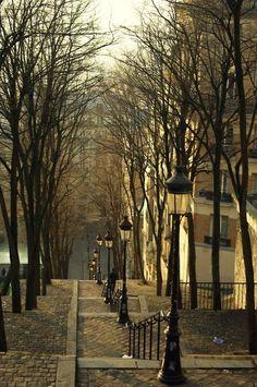 Autumn, Montremont, Paris, France