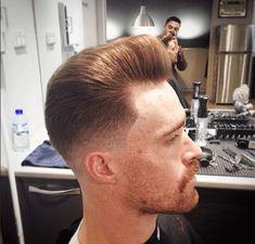 barbershop hairstyle