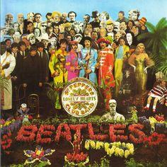 Pepper - the beatles - john lennon - paul mccartney - ringo starr- george harrison - album -cover Best Album Art, Greatest Album Covers, Iconic Album Covers, Classic Album Covers, Cool Album Covers, Cover Pics, The Beatles, Beatles Album Covers, Psychedelic Rock