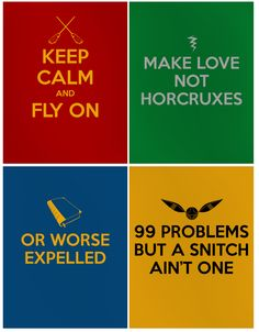 If you've got quidditch problems, I feel bad for you son. I've got 99 problems but a SNITCH ain't one!