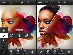 Photoshop Touch llega a los móviles iOS y Android