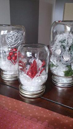 Pour n el halloween paque st valentin on pinterest easter eggs purple mason jars and pots - Deco noel facile ...