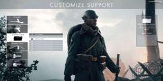 La clase Apoyo en Battlefield 1 no ha sufrido muchos cambios en el videojuego. Si quieres balas sin límite y fuego a discreción, esta es tu clase