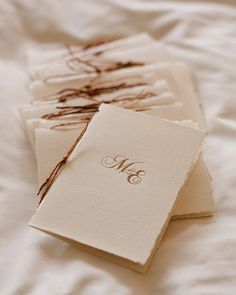 Wedding ceremony booklet with initials  #ceremonyprogram  #orderofservice