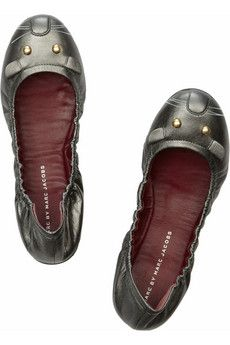 Marc by Marc Jacobs - Leather mouse ballet flats. Танцевальная Обувь · Туфли  ... 72164eb9f5a